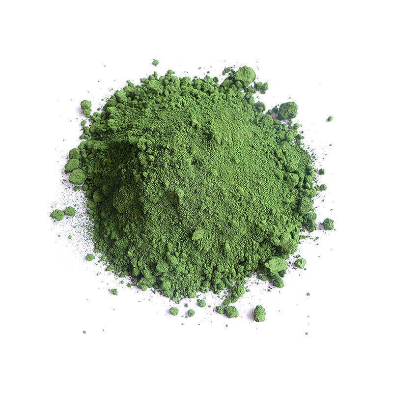 Trockenfarbe gruen