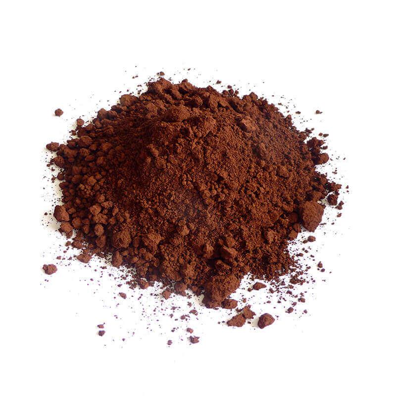Farbpigmente rot-braun