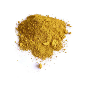 Colour pigments oxide yellow