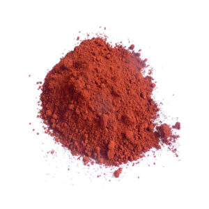 Colour pigments Tadelakt red