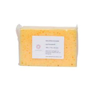 Sponge yellow plastic