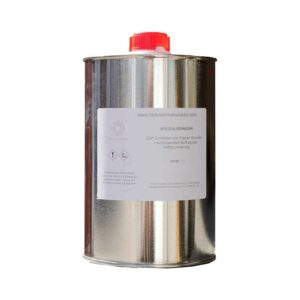 Special cleaner for degreasing 1 litre can