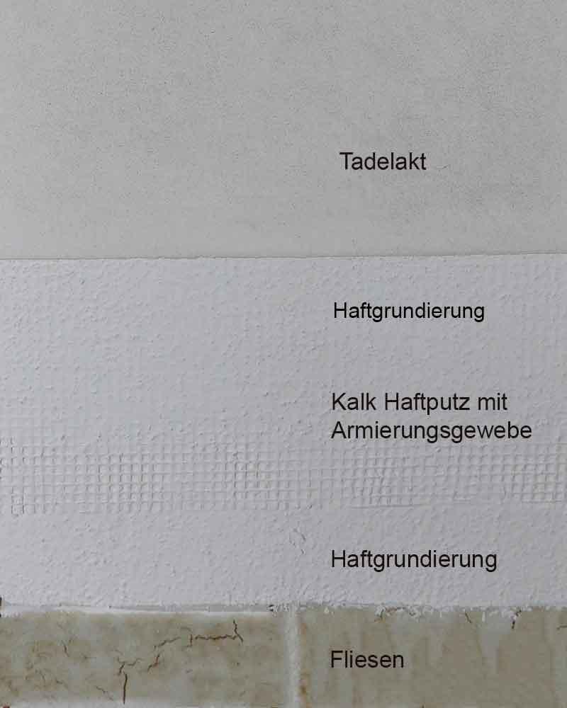 tile plastering