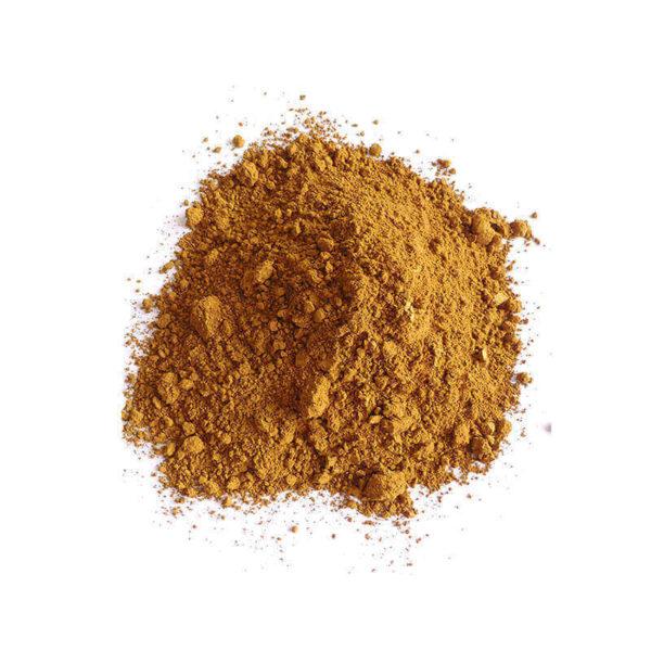 Colour pigments brown