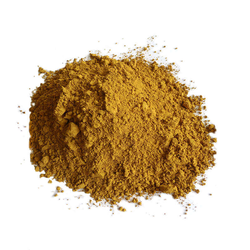 Farbpigmente beige gelb