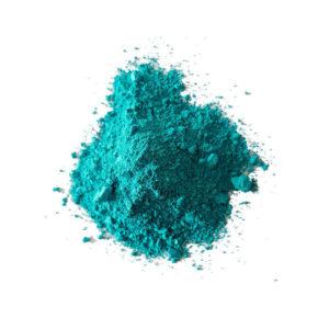 Farbpigmente tuerkisblau